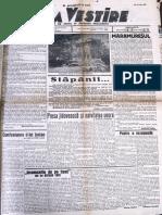 Buna Vestire anul I, nr. 114, 15 iulie 1937