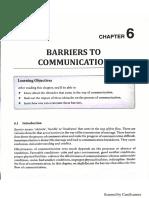 Unit 6 - Barrier of Communication