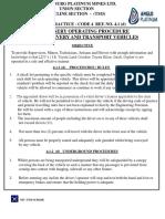 4-1 -d Machinery Operating Procedure Vehicles