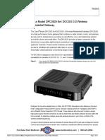 Datashet Cisco Dpc3825