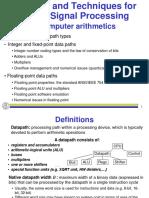 9 Computer Arithmetics