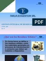 Capacitacion GESTION DE RESIDUOS SÓLIDOS.ppt