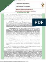 F Uribe, Presupuestos y Principios Básicos Del Discernimiento Según S Francisco