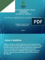 Eficiência Energética e a Sustentabilidade Aula 01