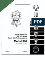 Quincy QR25 - Model 340 RC 104