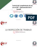 2017.09.01 Módulo III Rol Del Cumplimiento de Las Obligaciones en SST – Intervención de La Sunafil