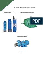 RMD Motor Types