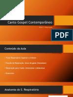 C. Gospel 2 - Aula 2 - Para Os Alunos