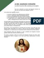 Letanias Al Sagrado Corazón de Jesús