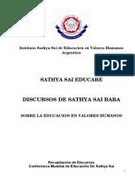 30 DISCURSOS DE SATHYA SAI BABA SOBRE EDUCACIÓN versión final 19-5-09