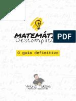 Matematica Descomplicada O Guia Definitivo Vinicus Floriano