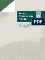Anexo Educación Física - Jornada Institucional N° 2 - Nivel Primario