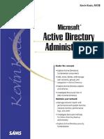 Kevin Kocis - Microsoft Active Directory Administration (Sams White Book Series)-Sams (2000)
