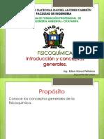 1 introducción FISICOQUÍMICA