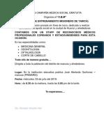 GRAN CAMPAÑA MEDICA GRATUITA CEM.docx