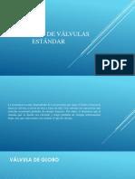 10.11 Aplicación de Valvulas Standard