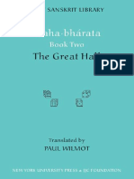 Epdf.tips Mahabharata Book Two the Great Hall Clay Sanskrit