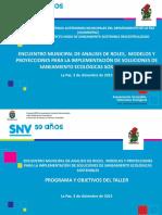0 Presentacion Programa y Objetivos La Paz