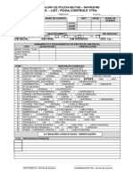 Check List e Ficha Controle VTrs
