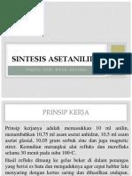 Sintesis Asetanilida