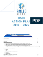 AMLED School DSIB Action Plan 2019-2020
