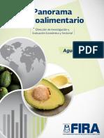 Panorama Agroalimentario Aguacate 2017