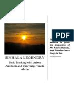 SINHALA LEGENDARY