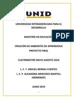 Proyecto Final Bernal, Martell