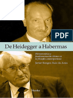 Javier Bengoa Ruiz de Azúa - De Heidegger a Habermas