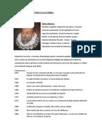 Biografia M. de Cervantes