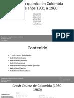 Presentación Industria Química (1931-1960)