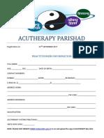 Acutherapy parishad