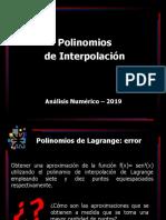 Interpolacion CDF