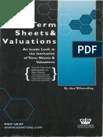 [Wilmerding, 2001] Term Sheets & Valuations.pdf