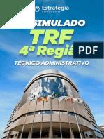 Simulado TRF4 TÉCNICO ADMINISTRATIVO ESTRATÉGIA CONCURSOS