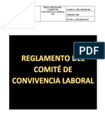 Reg-rr.hh-002. Reglamento de Comite de Convivencia Laboral