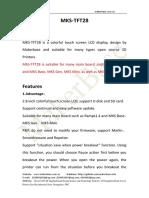 MKS-TFT28-DataSheet