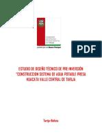 EDTP Agua Potable Huacata