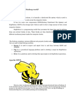 How Does Hive on Hadoop Work