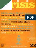 Revista Crisis N°22