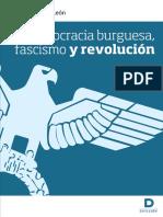 Democracia Burguesa Fascismo y Revolucin