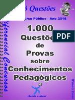 1000 questões de prova