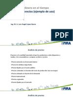 Análisis de Precios para evaluación de proyectos