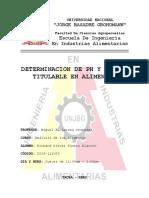 Determinacion de Ph y Acidimetria