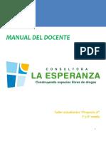 Manual Docente Proyecto X Nivel 2 (Iº Y IIº Medios)