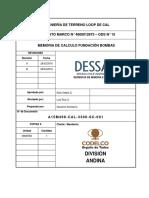 A15M498-CAL-3300-SC-001 Memoria de Cálculo Fundación Bombas Rev_B