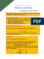 Variable Aleatoria d c Características