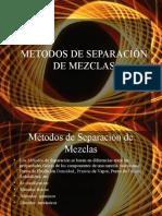 separación de mezclas - tecnologia de materiales