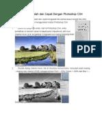Efek Infra Red Mudah Dan Cepat Dengan Photoshop CS4