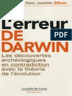 Zillmer Hans-Joachim - L'erreur de Darwin.pdf